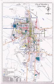 Sheridan Wyoming Map Sheridan Wyoming Map Southwest Map