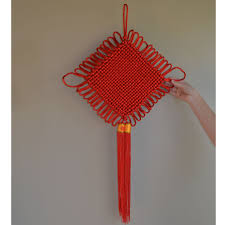 Chinese Wall Fan by Chinese New Year
