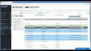 pqrs registries iris registry pqrs overview