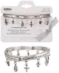armor of god bracelet bracelet faith christian charms silver