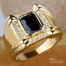 men gold rings 2017 men 4 claw black onyx ring r128 gflm size 10 11 13 j8178