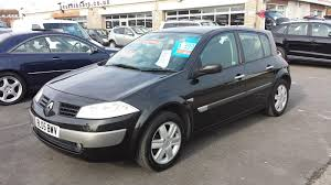 renault megane 2005 interior used renault megane dynamique 2005 cars for sale motors co uk