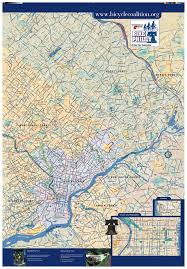 Map Of Philly Philadelphia Bike Map My Blog
