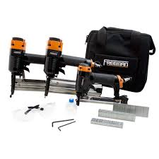 nailer and compressors freeman pro woodworker kit w fasteners