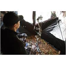 Bow Hunting From A Ground Blind Barronett Supertough Big Mike Hunting Ground Blind 667308