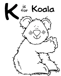 koala coloring pages ngbasic