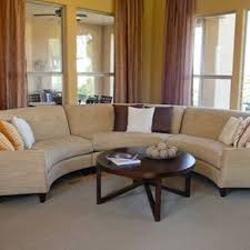 Circular Banquette Buy A Custom Made Small Round Settee Sofa In Microfiber Made To