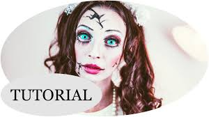 creepy doll u201c halloween make up tutorial youtube