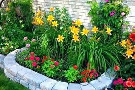 Simple Flower Garden Ideas Flower Garden Ideas Flower Shaped Floral Garden Layout