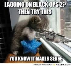 Black Ops 2 Memes - black ops 2 lagging kitten reggie s life