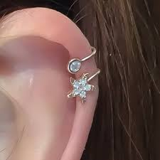 ear wraps and cuffs 75 best earrings images on ear jacket sided
