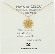 Nothing Can Dim The Light Which Shines From Within Dogeared Graduation Necklace 16 Gold Women Shipped Free At Zappos