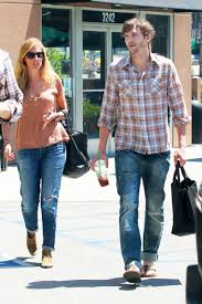 celebrity style watch ashton kutcher flops in l a gq