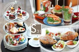 cuisine high 44 high tea set ท lobby lounge bar โรงแรม s31 sukhumvit
