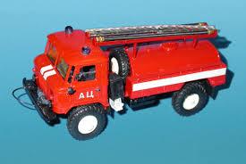 gaz 66 russian miniature gaz 66 fire tanker red in 1 43 scale