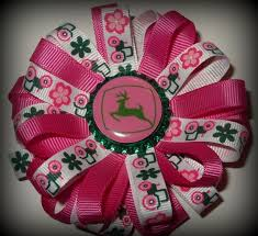 deere ribbon 17 best deere hair bows images on hairbows