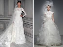 vera wang wedding dresses prices wang and lhuillier feature sleeved wedding dresses in