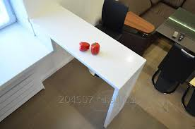 corian table tops table top with a bar counter from corian venaro white with stains