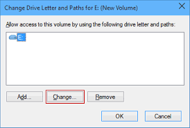 how to change drive letter in windows 10