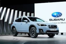 subaru crosstrek black wheels 2018 subaru xv comes with new looks and enhanced platform