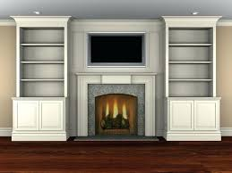 Built In Bookcases With Tv Built In Bookshelves Fireplace Plans Decorating Poplar Surround