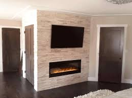 fireplace diy stacked stone stoneworks siding decoration modern