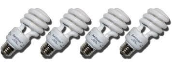 cfl grow light u2013 compact fluorescent light 13 watt 4 pack of 6400k
