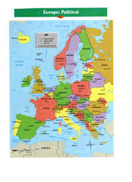 Western Europe Map by Maps