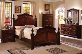 Awesome Wood Bedroom Sets Ideas Room Design Ideas - Dark wood queen bedroom sets