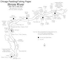 Normal Illinois Map by Illinois River Paddling Fishing