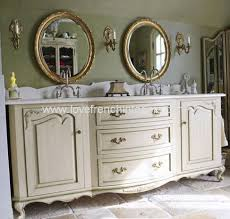 French Vanity Units Bespoke Large Double Bowl Sink Vanity Unit And Two Mirrors