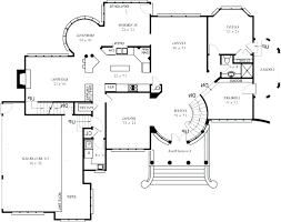 luxury estate home plans large estate home plans 4 bedroom 4 bathroom home plan large estate