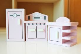 Dollhouse Kitchen Furniture Dollhouse Warm Chocolate