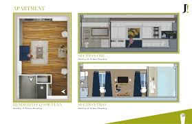 photoshop door plan u0026 detail section design element drafted