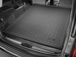 gmc yukon trunk space 2018 gmc yukon xl yukon denali xl cargo mat and trunk liner for