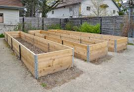 Plans For Making A Garden Table by How To Make A Raised Bed For Your Garden