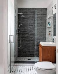 small bath design ideas round glass shower white toilet sitting