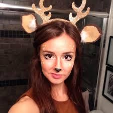Deer Antlers Halloween Costume 64 Halloween Images Deer Costume Deer Makeup