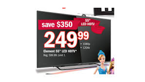 target 55 inch 4 k black friday specials 169 99 49 inch element tv and 249 99 55 inch element tv are
