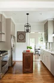 Small Kitchen With Island Design Ideas How To Make An Island Work In A Small Kitchen