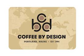 gift cards and gift certificates coffee by design craft