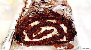 christmas chocolate yule log cake recipe christmas chocolate cake