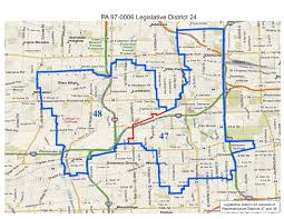 Illinois State Map by Will County Politics Realigned Illinois State Legislative And