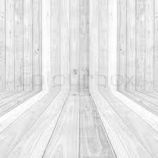 big white wood plank floor texture background stock photo
