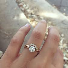 Engagement Ring With Wedding Band by Trendy Photo Wedding Rings Set For Him And Her Yellow Gold
