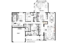 pictures house plans open concept bungalow impressive home