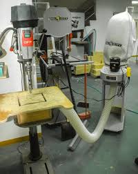 Diy Drill Press Table by Drill Press Table With Down Draft Facility