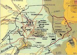 imagenes de antigua atenas resultado de imagen de mapa de la antigua atenas античность
