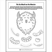 healthy halloween tips games american dental association