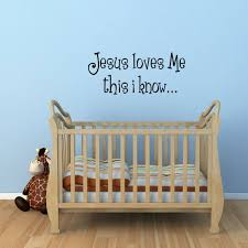 jesus loves me wall decal baby pinterest wall decals church jesus loves me wall decal name stickersstickers for